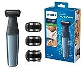 Philips Bodygroom Series 3000 hautfreundlicher Körperrasierer BG3015/15 (inkl. 3...