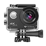 4K Action Kamera WIFI 170°Weitwinkel Helmkamera Unterwasserkamera -VON Tonbux- 4K HD...