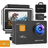 APEMAN 4K Action Cam 20MP WiFi Wasserdichte Unterwasser Kamera 40M Digitale...