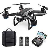 DEERC Drohne mit Kamera 1080P FHD Live Übertragung 120° Weitwinkel,RC Quadrocopter...