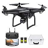Potensic FPV Drohne mit 1080P HD Kamera, RC Quadrocopter, Dual GPS und Follow me...