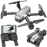 Simulus Drohne Follow Me: Faltbarer GPS-Quadrocopter mit 4K-Kamera, WLAN, Follow-Me,...