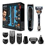Braun 9-in-1 Multi-Grooming-Kit MGK3085, Barttrimmer und Haarschneider,...