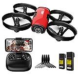 SANROCK Mini Drohne mit Kamera für Kinder Anfänger, RC Quadcopter mit 720P HD WiFi...