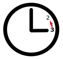 Uhr umstellen!